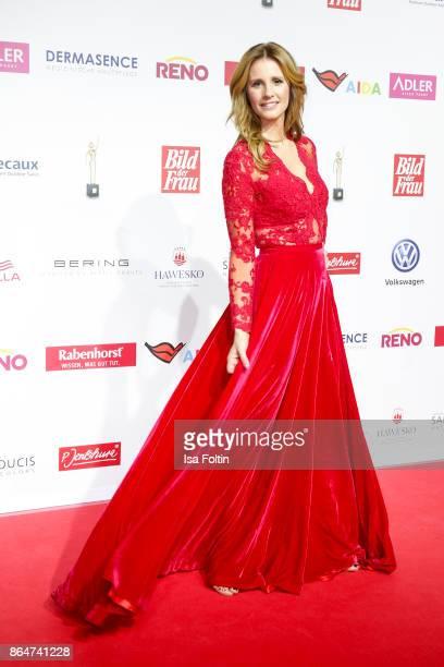 German presenter Mareile Hoeppner attends the 'Goldene Bild der Frau' award at Hamburg Cruise Center on October 21 2017 in Hamburg Germany