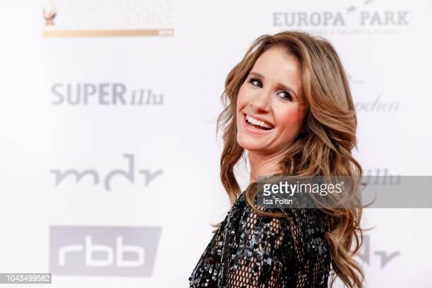German presenter Mareile Hoeppner during the Goldene Henne on September 28 2018 in Leipzig Germany