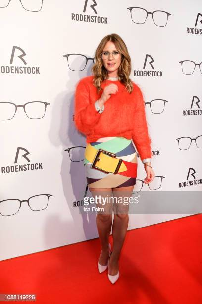 German presenter Mareile Hoeppner during the Rodenstock Eyewear Show 'A New Vision of Style' at Isarforum on January 24 2019 in Munich Germany