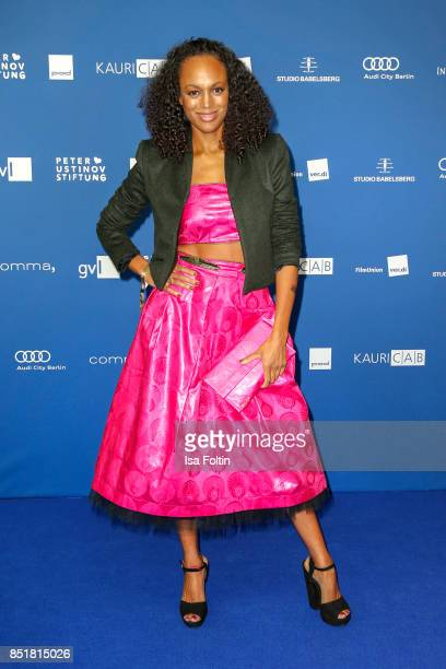 German presenter Milka Loff Fernandez during the 6th German Actor Award Ceremony at Zoo Palast on September 22 2017 in Berlin Germany