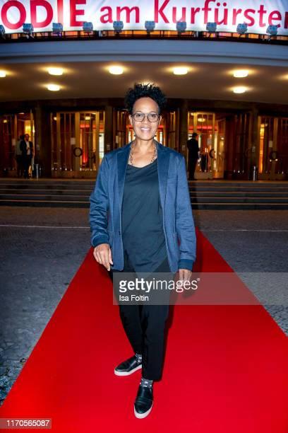 German presenter Mo Asumang during the Vaunet Summer Party Berlin Germany
