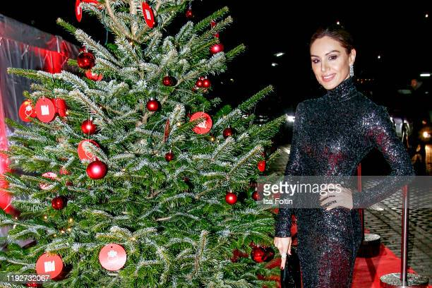 """German presenter Nazan Eckes during the Daimlers """"BE A MOVER"""" event at Ein Herz Fuer Kinder Gala at Studio Berlin Adlershof on December 7, 2019 in..."""