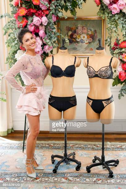 German presenter Nazan Eckes during the Triumph Florale Lunch on June 1 2017 in Hamburg Germany