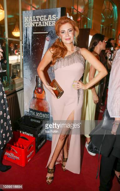 German presenter Palina Rojinski attends the GQ Men of the Year Award after show party at Komische Oper on November 8 2018 in Berlin Germany