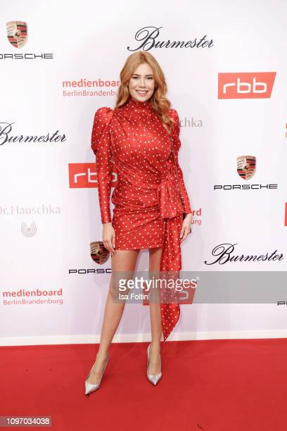 German presenter Palina Rojinski attends the Medienboard BerlinBrandenburg Reception on the occasion of the 69th Berlinale International Film...