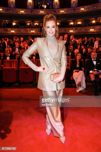 German presenter Palina Rojinski during the GQ Men of the year Award 2017 show at Komische Oper on November 9 2017 in Berlin Germany
