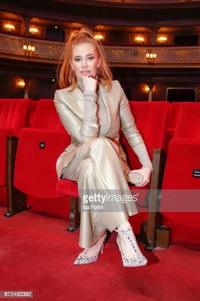 German presenter Palina Rojinski during the GQ Men of the year Award 2017 show at Komische Oper on November 9 2017 in Berlin Germany