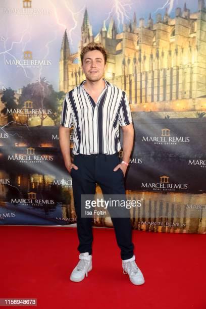 German presenter Philipp Isterewicz attends the Remus Lifestyle Night on August 1 2019 in Palma de Mallorca Spain