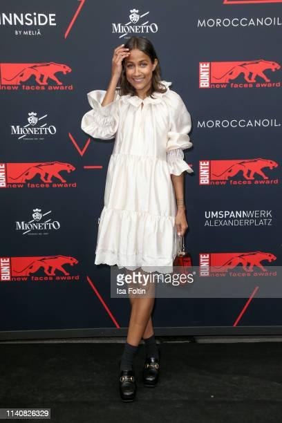 German presenter Rabea Schif attends the New Faces Award Film at Umspannwerk Alexanderplatz on May 2 2019 in Berlin Germany