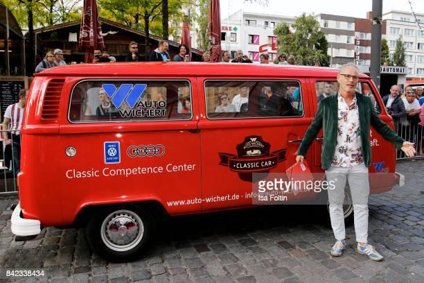 German presenter Reinhold Beckmann attends the 'Nacht der Legenden' at Schmidts Tivoli on September 3 2017 in Hamburg Germany