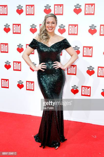 German presenter Ruth Moschner attends the 'Ein Herz fuer Kinder Gala' at Studio Berlin Adlershof on December 9 2017 in Berlin Germany