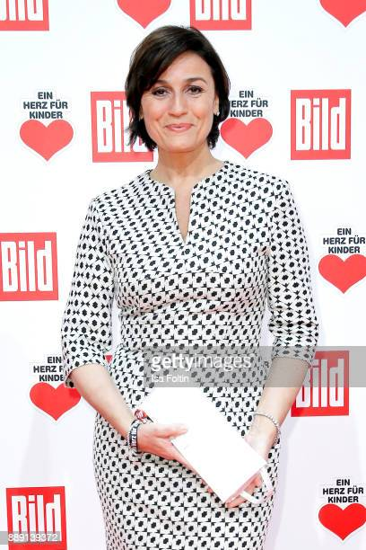 German Presenter Sandra Maischberger attends the 'Ein Herz fuer Kinder Gala' at Studio Berlin Adlershof on December 9 2017 in Berlin Germany