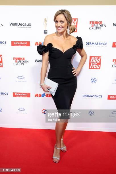 German presenter Sandra Maria Gronewald attends the annual Goldene Bild der Frau award on October 23 2019 in Hamburg Germany