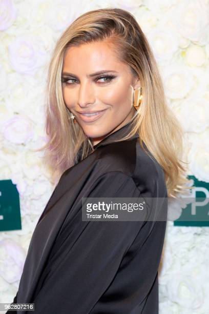German presenter Sophia Thomalla attends the Cherry Blossom Night on May 25 2018 in Hamburg Germany