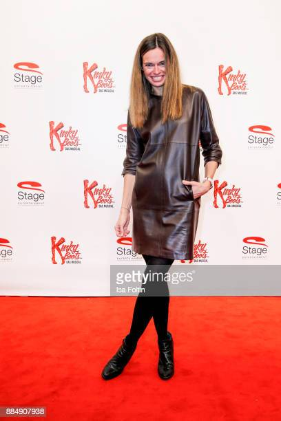 German presenter Susanne Boehm attends the 'Kinky Boots' Musical Premiere at Stage Operettenhaus on December 3 2017 in Hamburg Germany