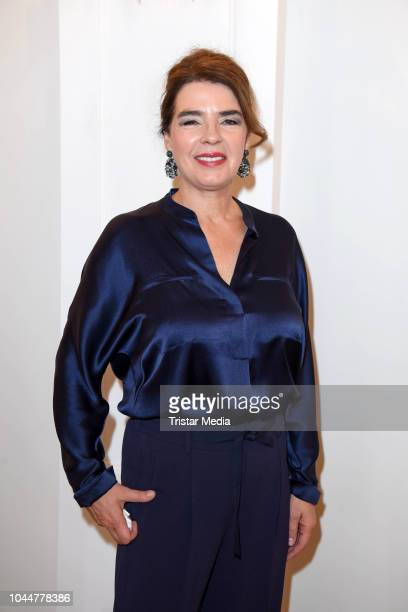 German presenter Susanne Daubner during the awarding with the Order of Merit of the Federal Republic of Germany on the occasion of the Day of German...