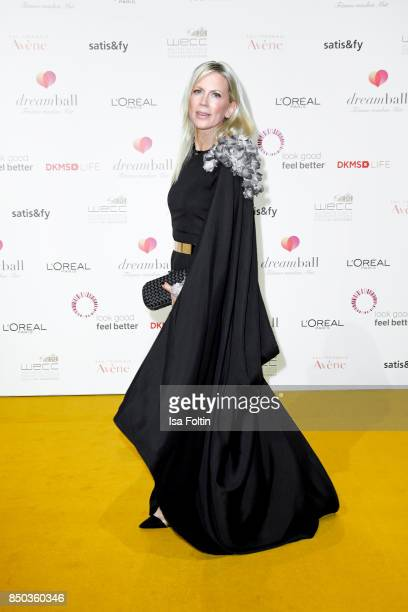 German presenter Tamara Nayhauss attends the Dreamball 2017 at Westhafen Event Convention Center on September 20 2017 in Berlin Germany
