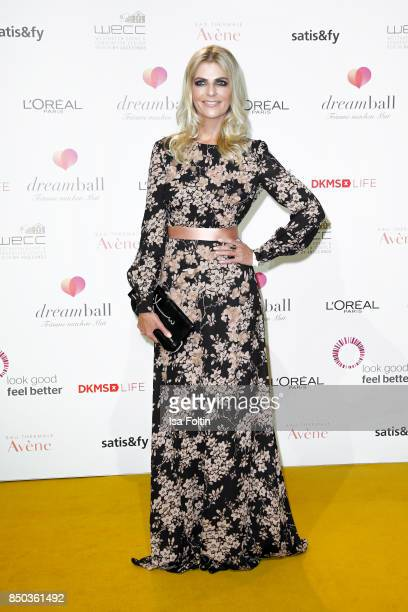 German presenter Tanja Buelter attends the Dreamball 2017 at Westhafen Event Convention Center on September 20 2017 in Berlin Germany
