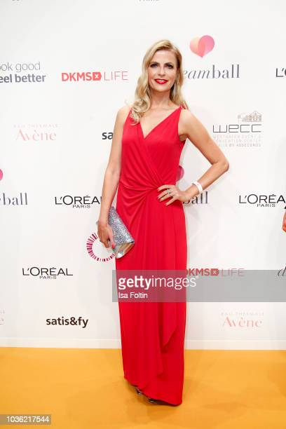 German presenter Tanja Buelter attends the Dreamball 2018 at WECC Westhafen Event Convention Center on September 19 2018 in Berlin Germany