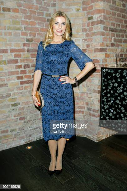 German presenter Tanja Buelter during the Bunte New Faces Night at Grace Hotel Zoo on January 15 2018 in Berlin Germany