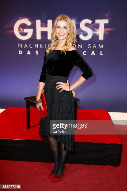 German presenter Tanja Buelter during the premiere of 'Ghost Das Musical' at Stage Theater on December 7 2017 in Berlin Germany