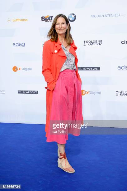 German presenter Tita von Hardenberg attends the summer party 2017 of the German Producers Alliance on July 12 2017 in Berlin Germany