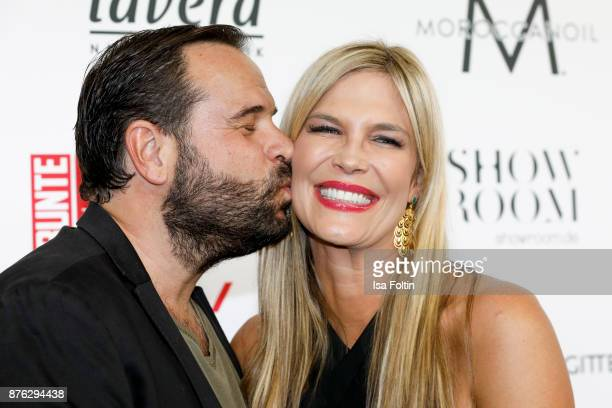 German presenter Verena Wriedt and her husband Thomas Schubert attend the New Faces Award Style 2017 at The Grand on November 15 2017 in Berlin...