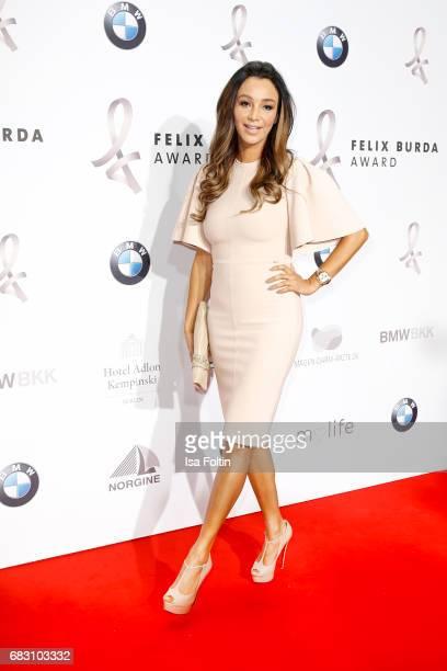 German presenter Verona Pooth attend the Felix Burda Award 2017 at Hotel Adlon on May 14, 2017 in Berlin, Germany.
