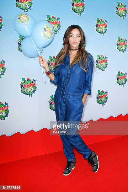 German presenter Verona Pooth during the KinderTag to celebrate children's day on September 19 2017 in Berlin Germany