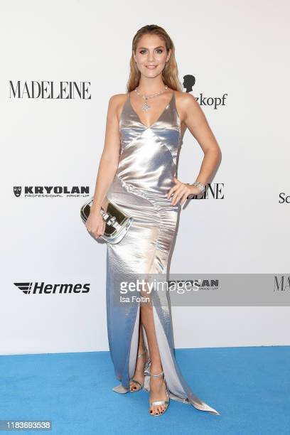 German presenter Viviane Geppert during the Tribute To Bambi at Casino BadenBaden on November 20 2019 in BadenBaden Germany