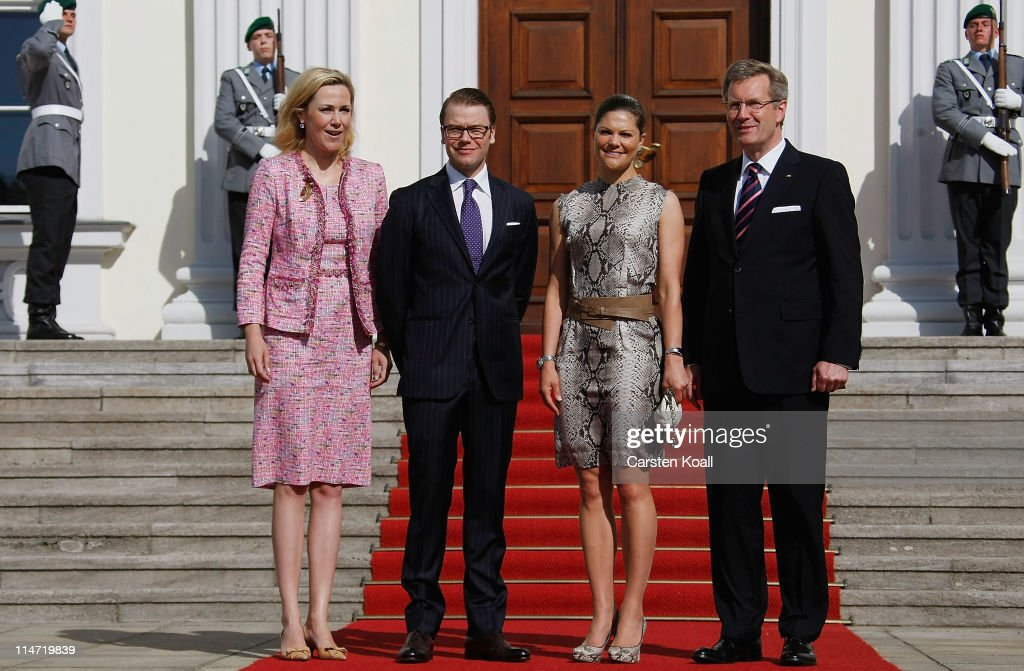 HRH Crown Princess Victoria Of Sweden And Prince Daniel On Germany Visit - Day 3 : News Photo