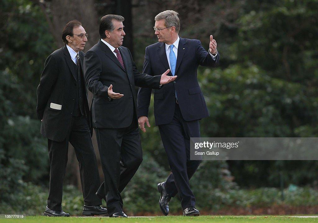 Tajik President Rahmon Visits Berlin