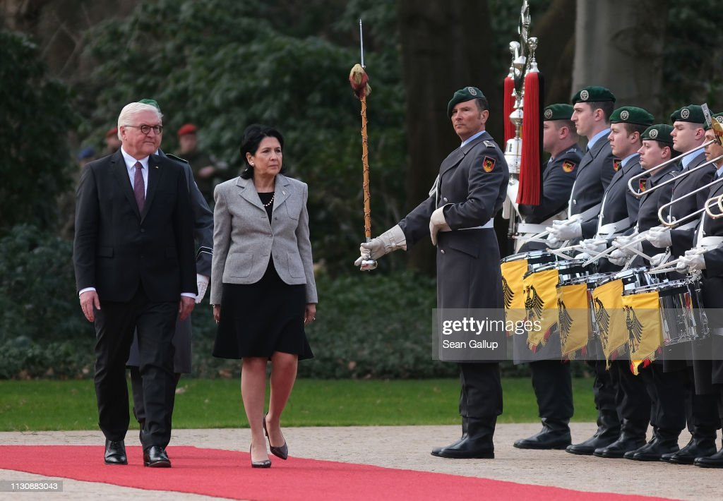 DEU: Georgian President Salome Zurabishvili Visits Berlin Seeking Closer Ties With EU