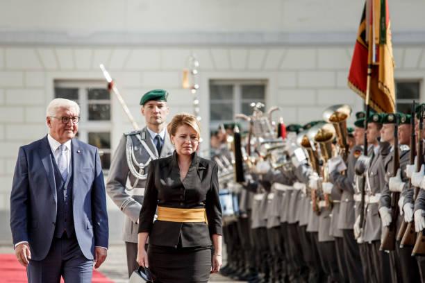 DEU: New Slovak President Caputova Visits Berlin