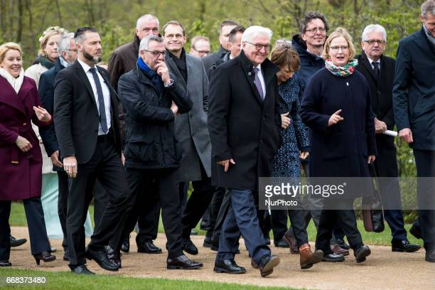 German President FrankWalter Steinmeier attends the opening of the IGA 2017 in Berlin Germany on April 13 2017 The exhibition will open from April 13...