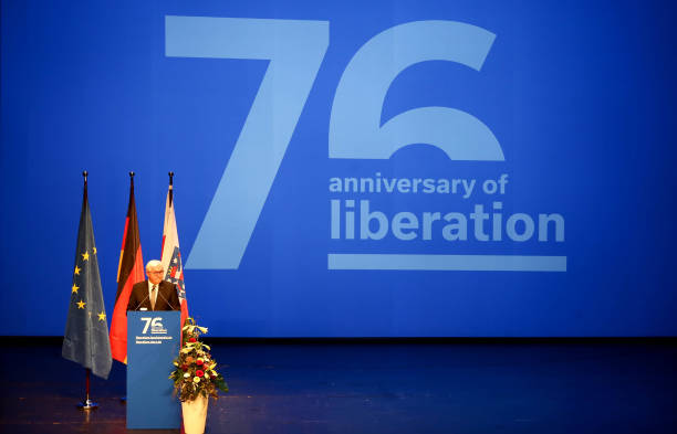 DEU: Buchenwald Memorial Commemorates 76th Anniversary Of Liberation
