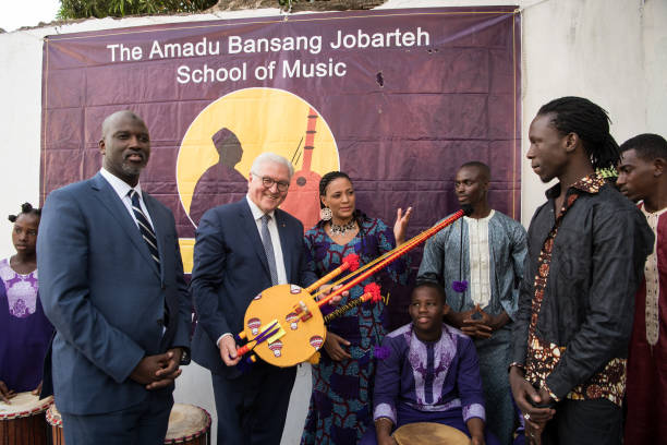 German President Steinmeier in Gambia Pictures | Getty Images