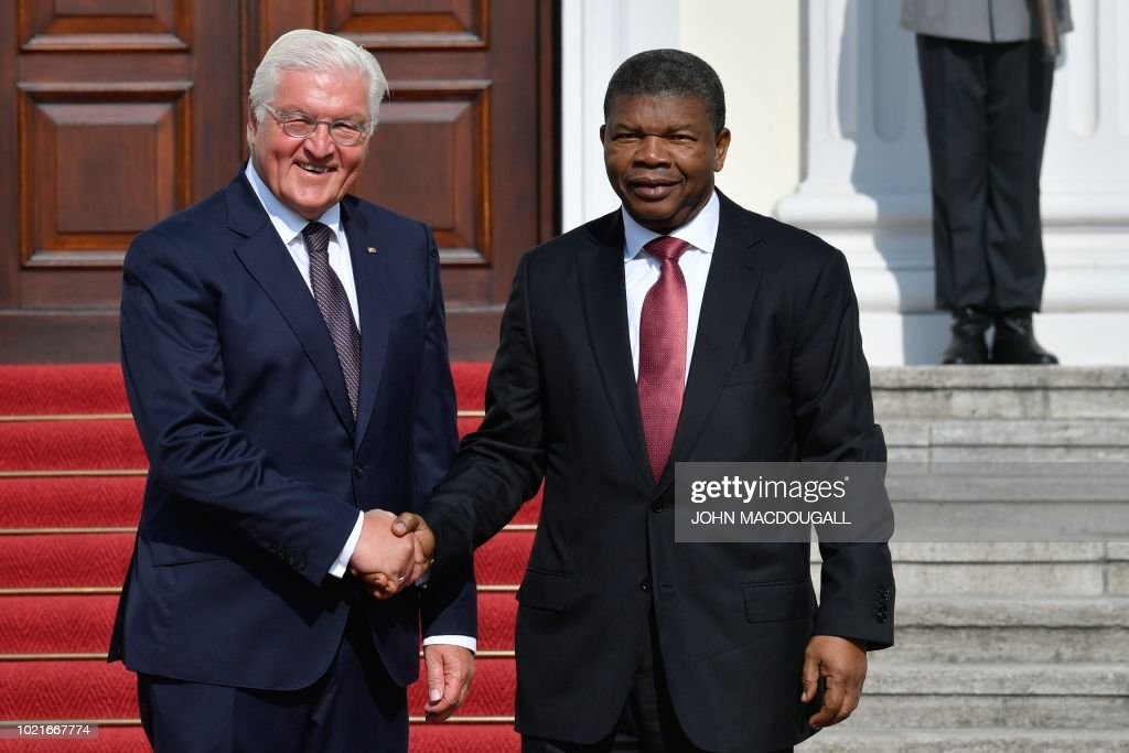 GERMANY-ANGOLA-DIPLOMACY : News Photo