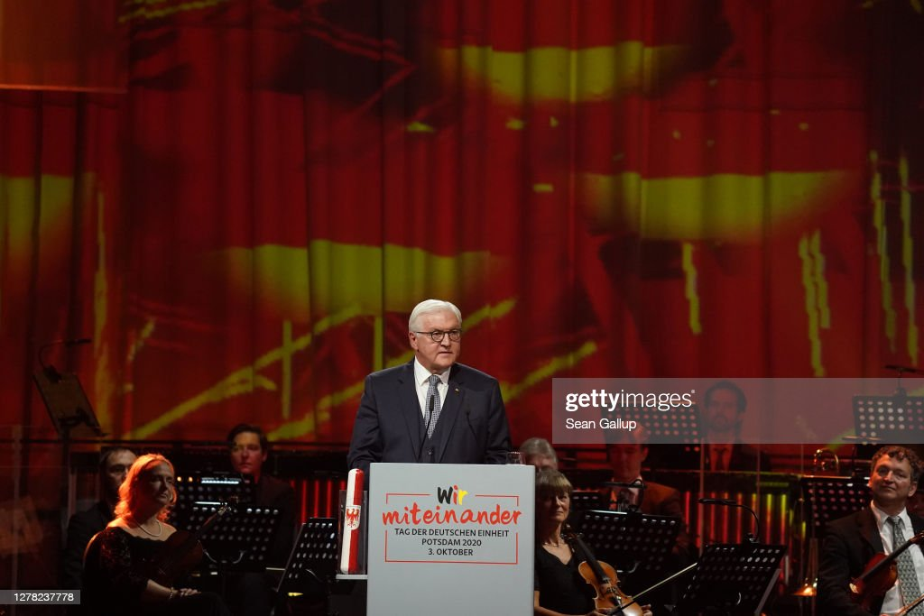 Germany Celebrates 30th Anniversary Of Reunification : Foto di attualità