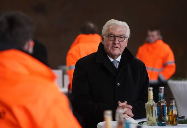 DEU: President Steinmeier Visits Metal Recycling Plant