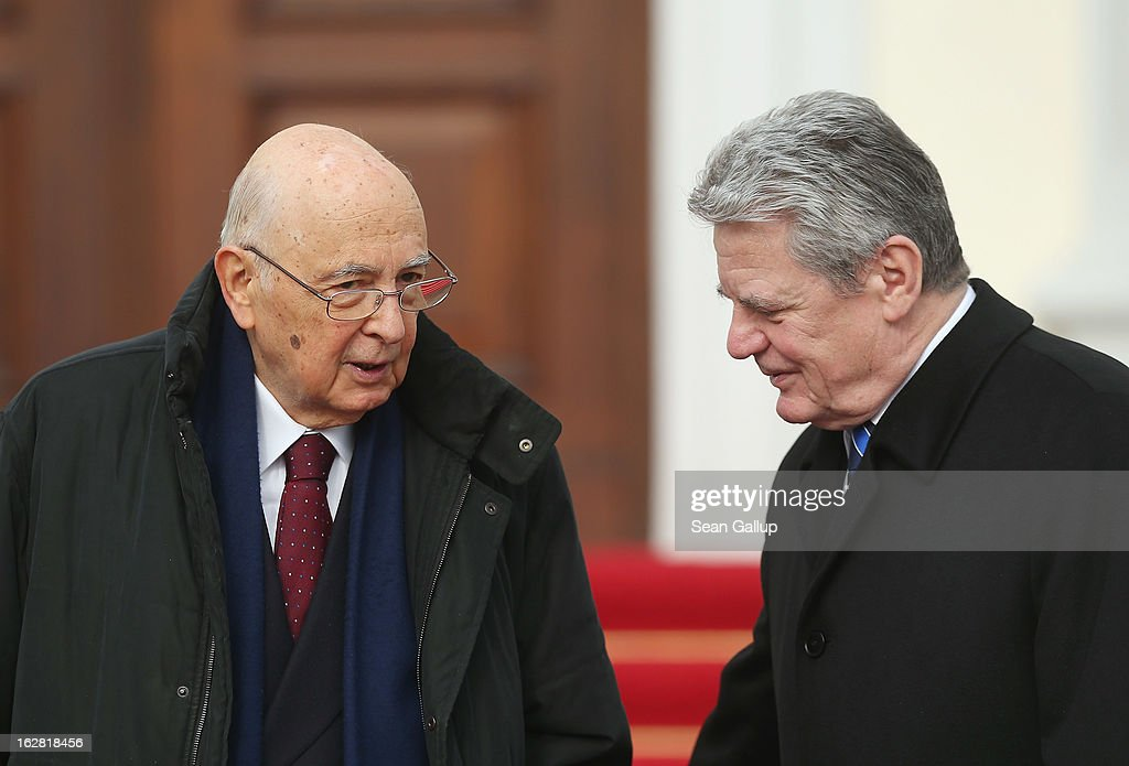 Italian President Giorgio Napolitano Makes Three-day Visit