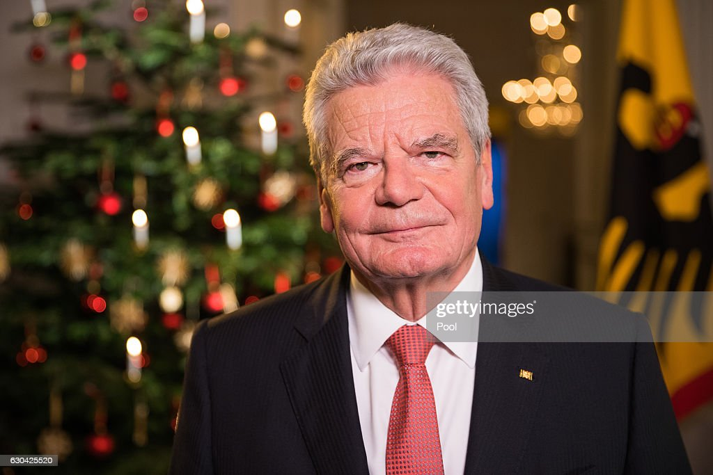 President Gauck Records Christmas Address