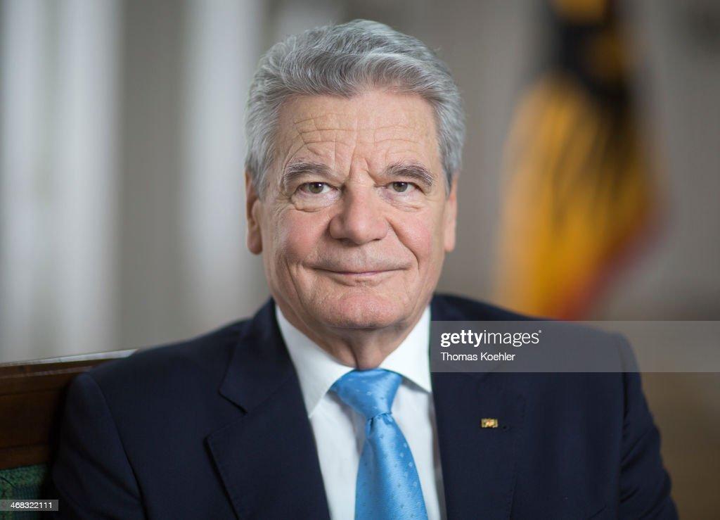 German President Gauck Portraits