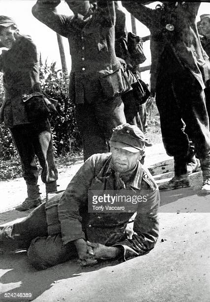 German prisoner Dinard France World War II August 1944