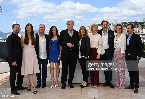 German producer Jonas Dornbach, German producer Janine Jackowski, Romanian actor Vlad Ivanov, Roamanian actress Ingrid Bisu, Austrian actor Peter...