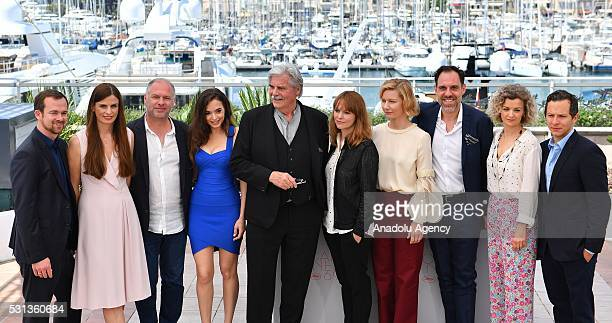 German producer Jonas Dornbach, German producer Janine Jackowski, Romanian actor Vlad Ivanov, Romanian actress Ingrid Bisu, Austrian actor Peter...