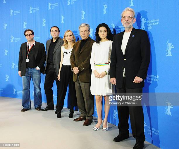 German Production designer Uli Hanisch Russian TV producer Alexander Rodnyansky German actress Diane Kruger CostaGavras French director and Jury...