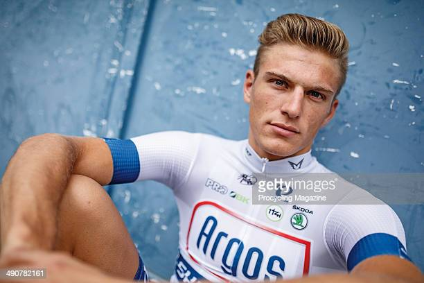 German professional cyclist Marcel Kittle of UCI pro team Argos-Shimano photographed during a portrait shoot for Procycling Magazine, September 3,...