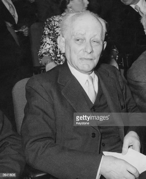 German quantum physicist and Nobel laureate Max Born