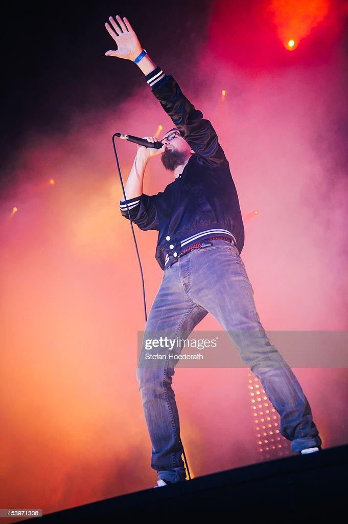 Prinz Pi Performs In Berlin : Nachrichtenfoto